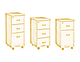 The Office Furniture Singapore – Pedestals