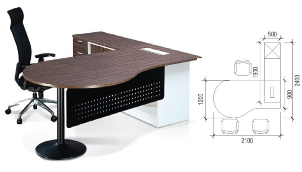 office furniture singapore Crina Series 1 office table design
