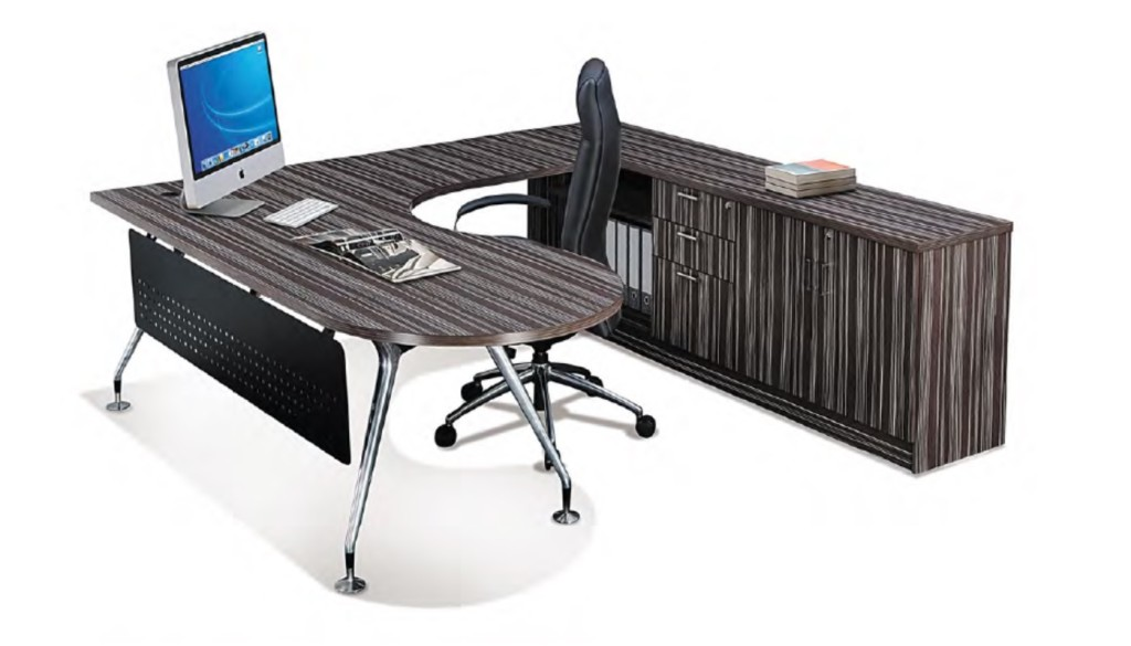 office furniture singapore Execituve P-Shape innovative office furniture