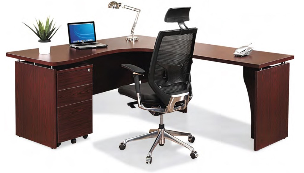 computer desk office furniture singapore office desk Elegance L Series modern office furniture singapore