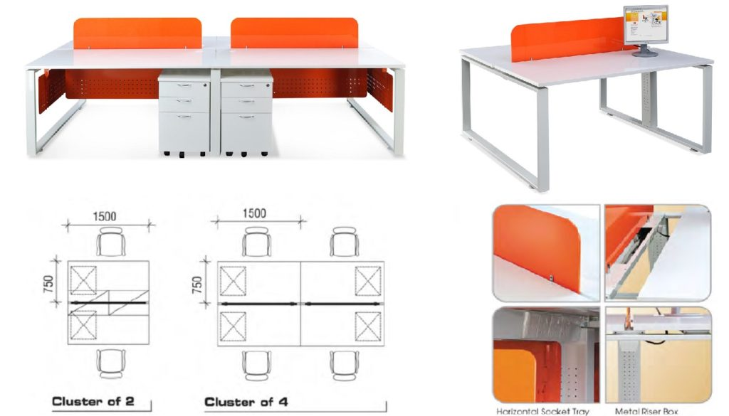 work desk singapore office furniture singapore