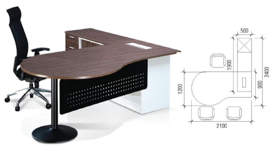 office furniture singapore Crina Series 1 office table design