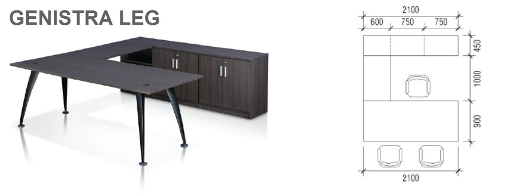 office furniture singapore Executive office desk genistra style office furniture
