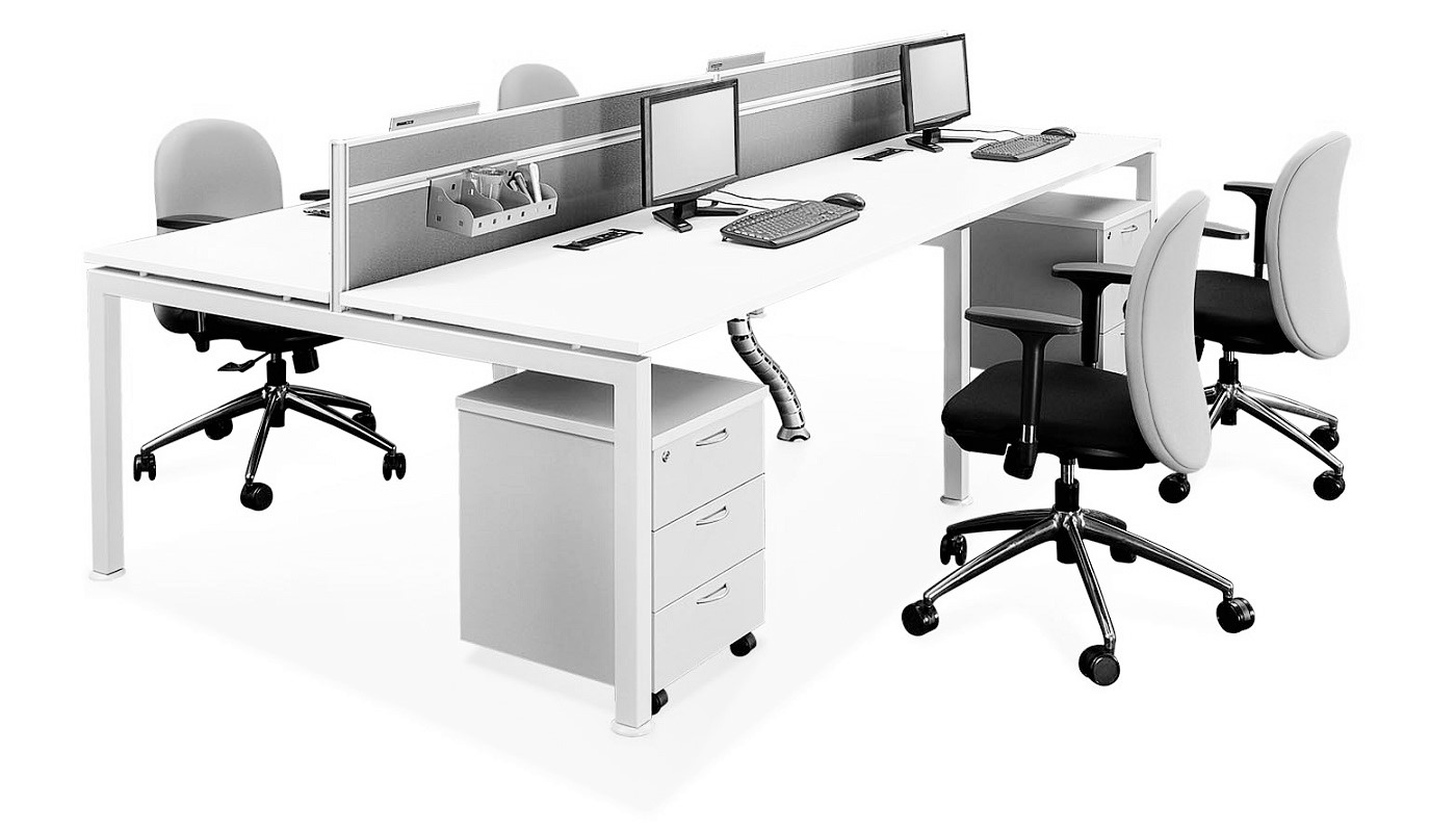 office furniture singapore office partition 28mm Office Cubicle 15 (2) pc table