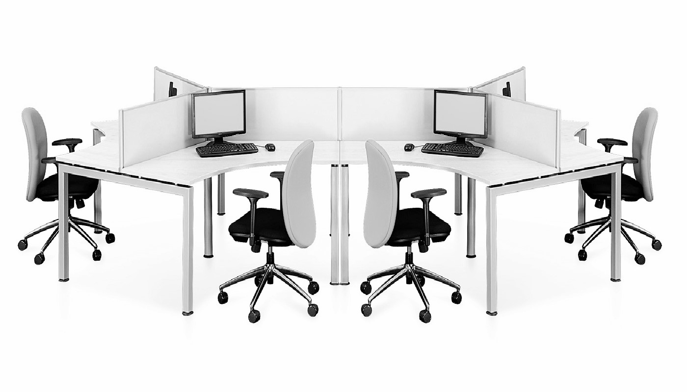office furniture singapore office partition 28mm Office Cubicle 17 (2) computer workstation