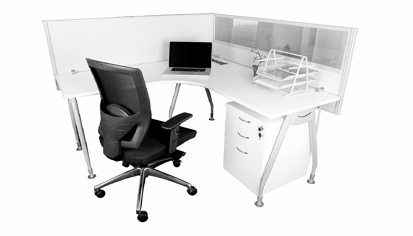 office furniture singapore office partition 28mm Office Cubicle 20 (4) L shaped desk