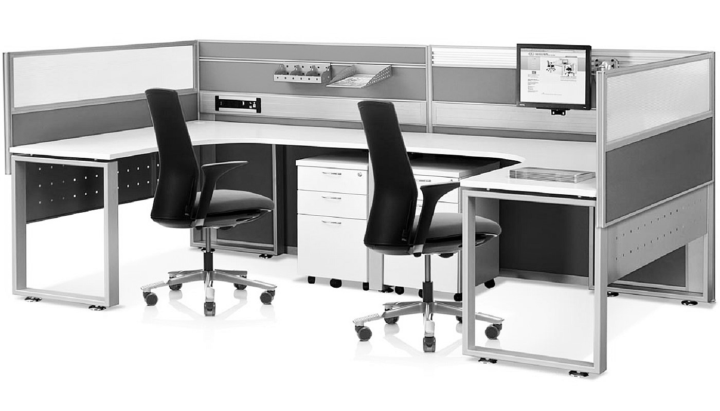 office furniture singapore office partition 28mm Office Cubicle 24 (2) innovative office furniture