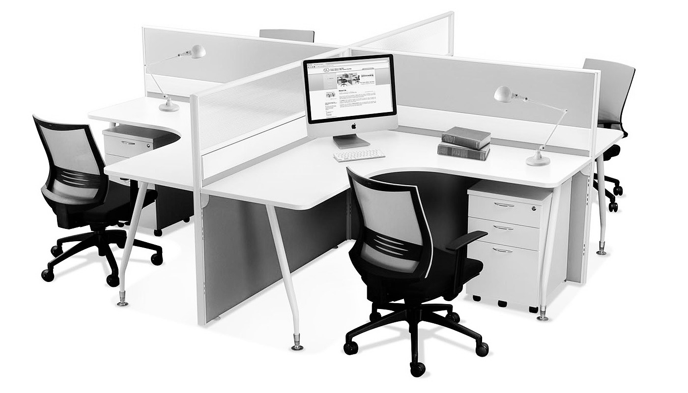 office furniture singapore office partition 28mm Office Cubicle 27 (2) office desk