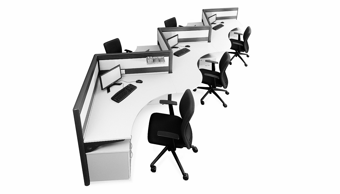 office furniture singapore office partition 28mm Office Cubicle 33 (2) portable partition