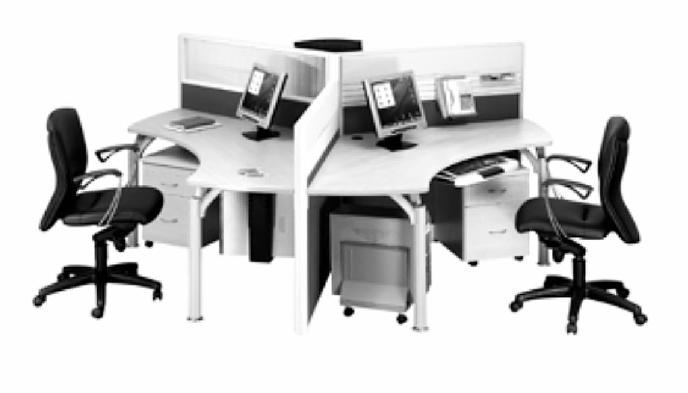 office furniture singapore office partition 28mm Office Cubicle 36 (2) space saving office furniture