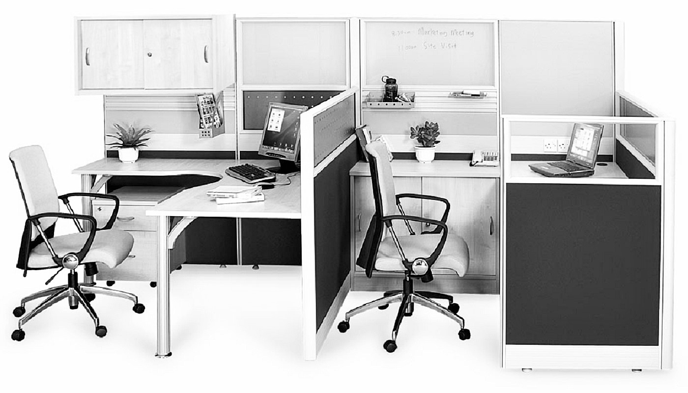 office furniture singapore office partition 28mm Office Cubicle 38 (2) style office furniture