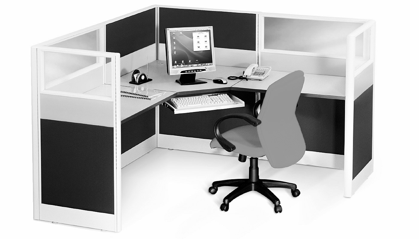 office furniture singapore office partition 28mm Office Cubicle 41 (4) desking system