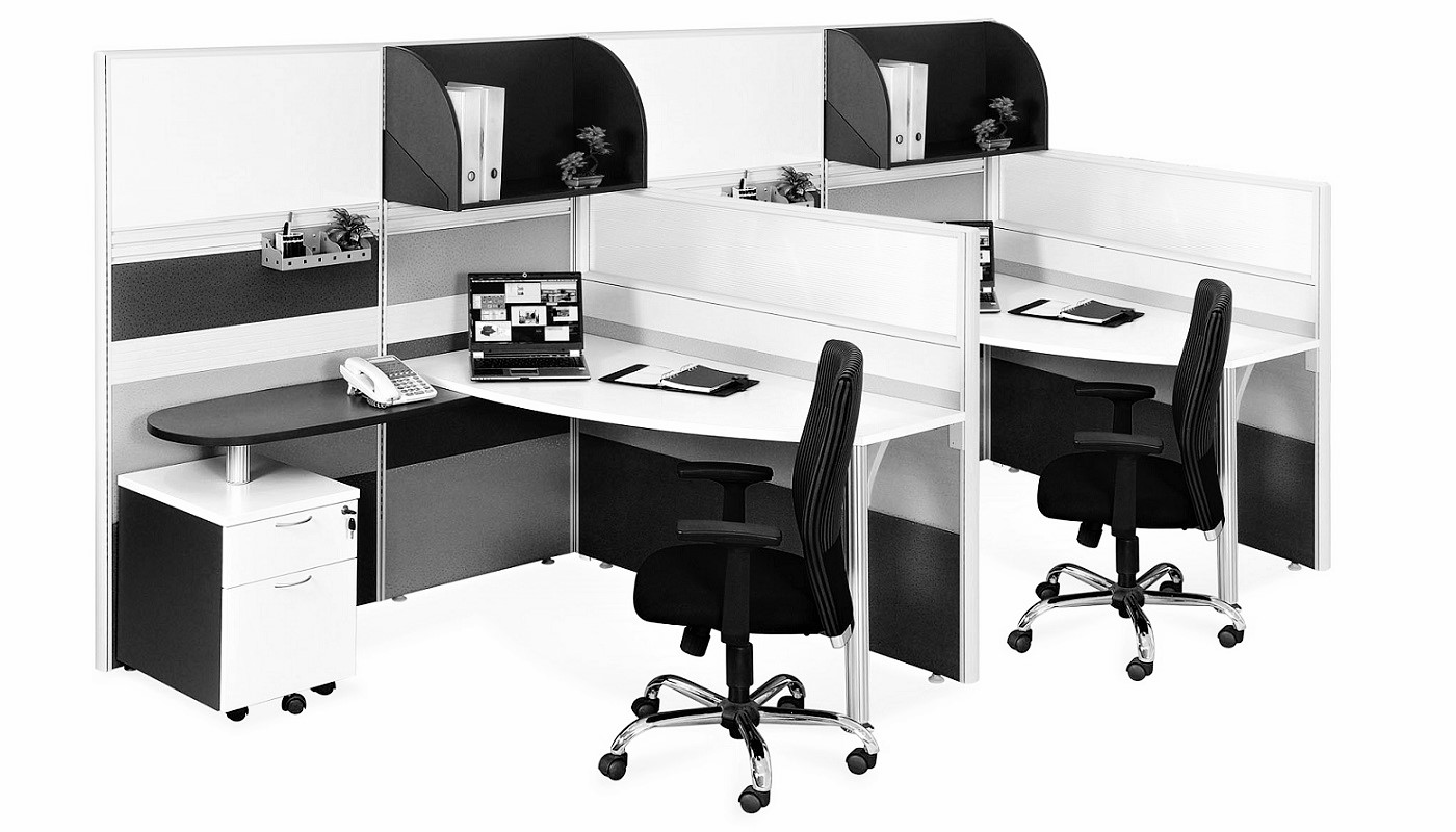 office furniture singapore office partition 28mm Office Cubicle 42 (2) office screen