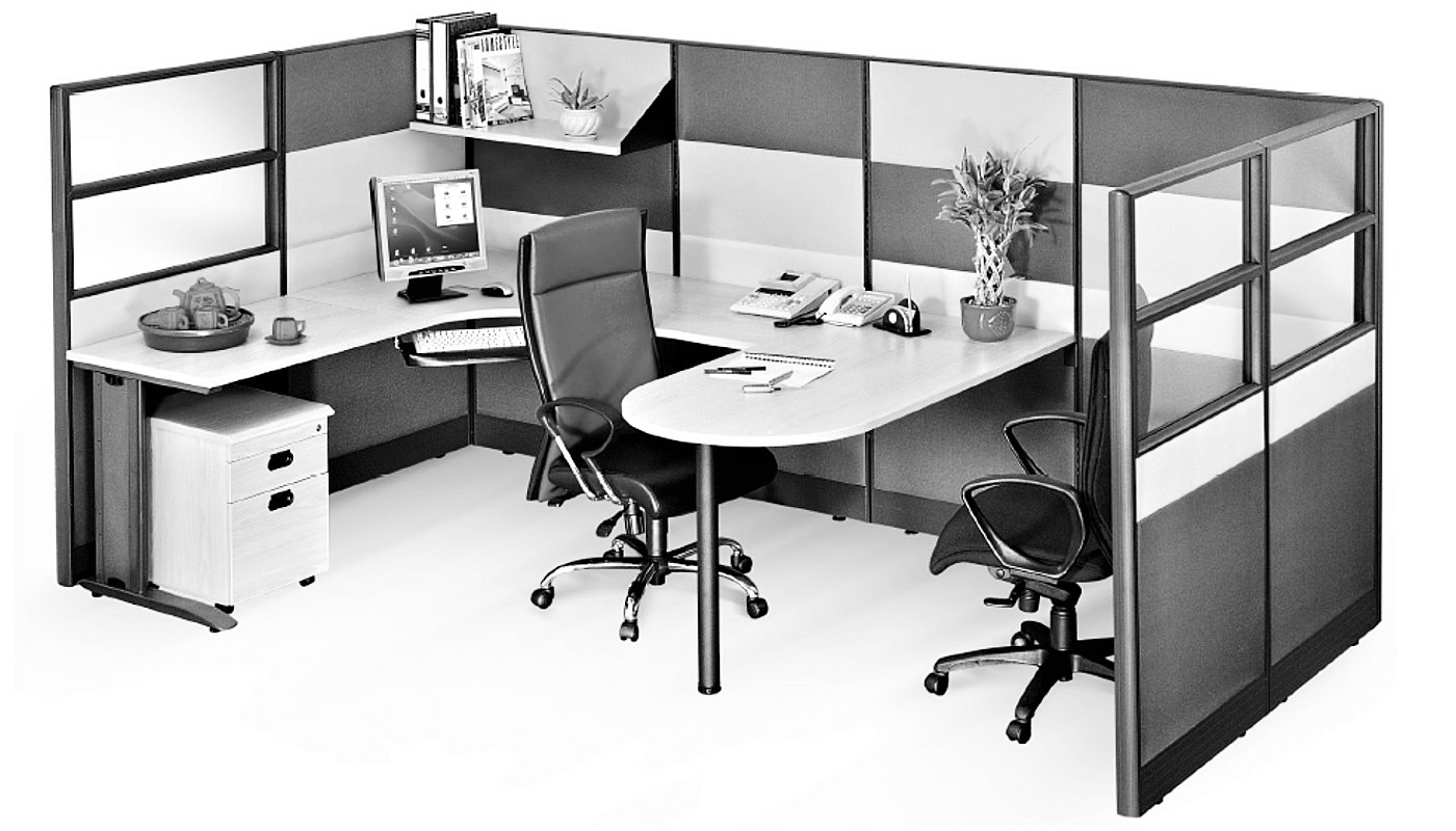 office furniture singapore office partition 28mm Office Cubicle 42 (4) open office furniture