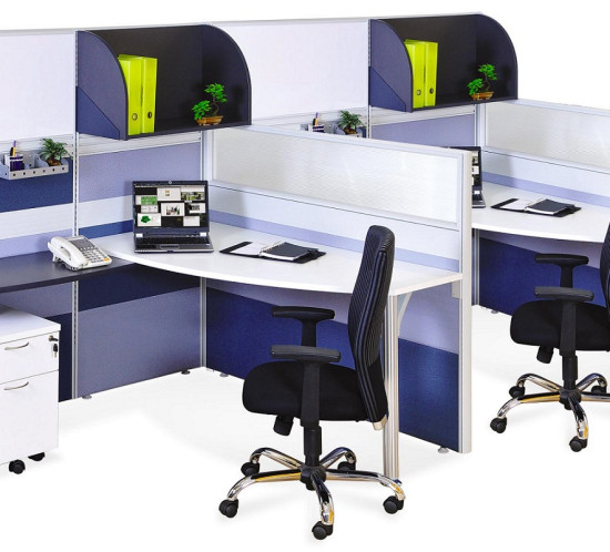 office furniture singapore office partition 28mm Office Cubicle 42 desk screen