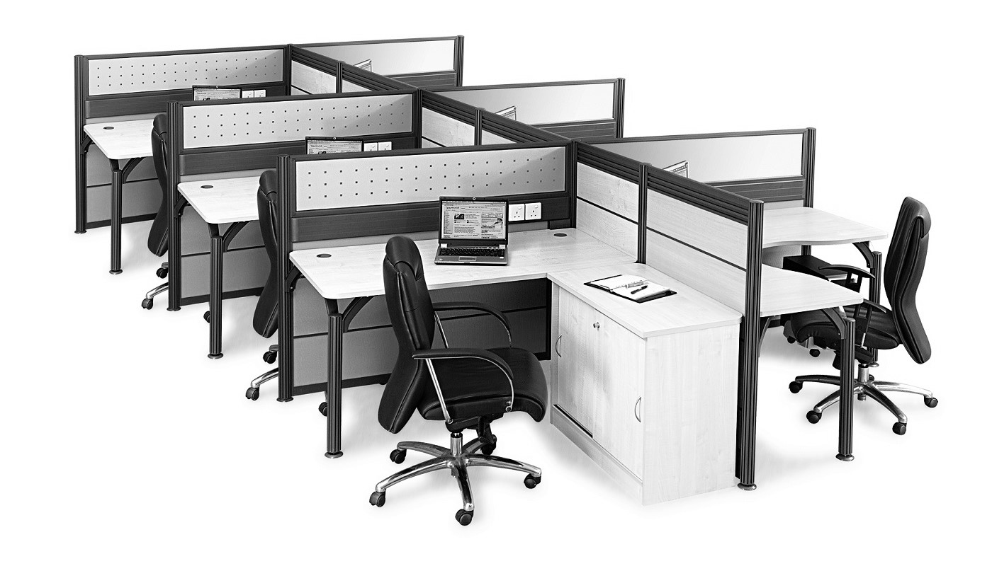 office furniture singapore office partition 28mm Office Cubicle 48 (2) office system