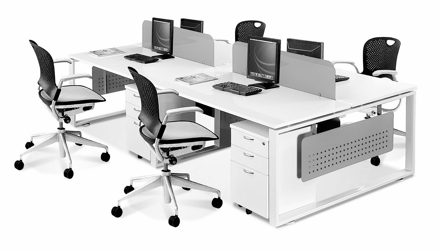 office furniture singapore office partition 28mm Office Cubicle 5 (2) office desk