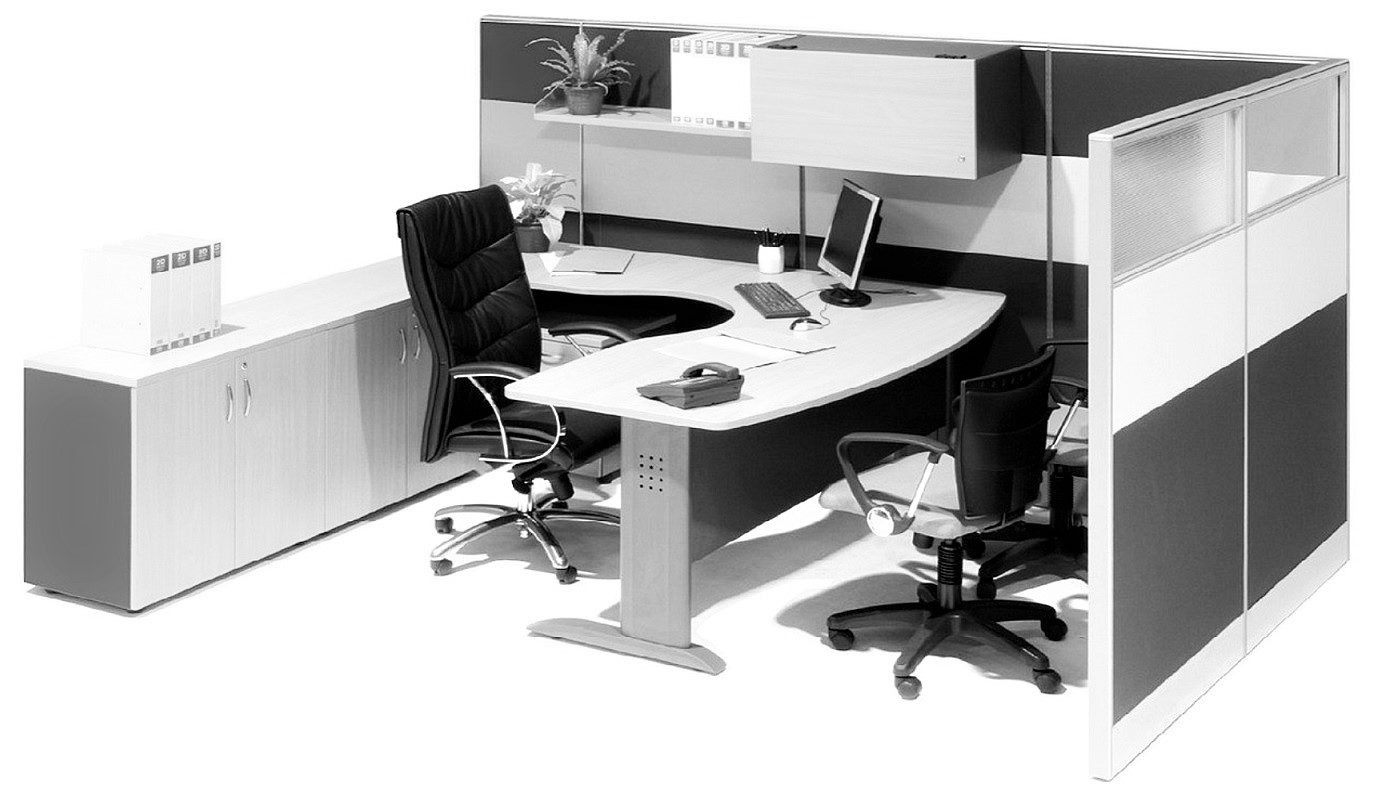 office furniture singapore office partition 28mm Office Cubicle 55 (2) wooden partition