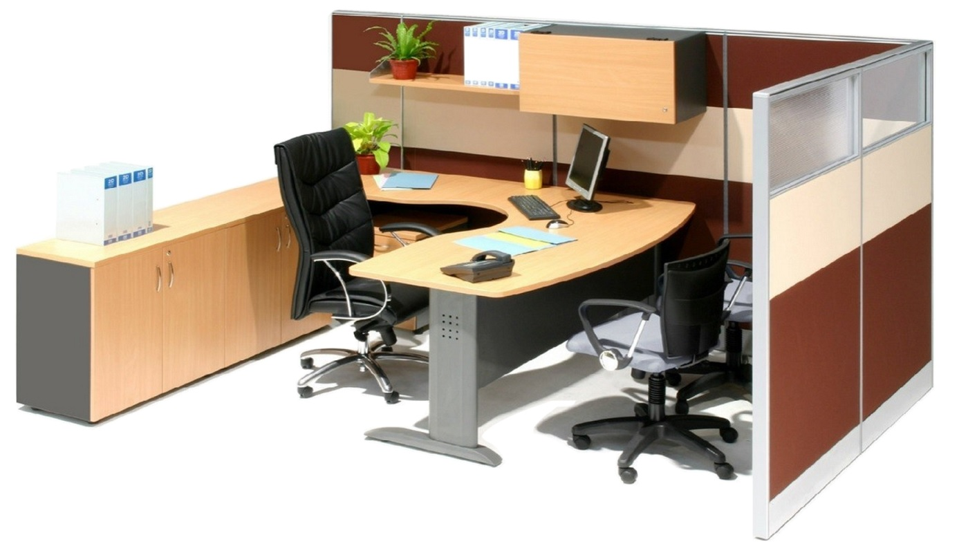 office furniture singapore office partition 28mm Office Cubicle 55 working desk