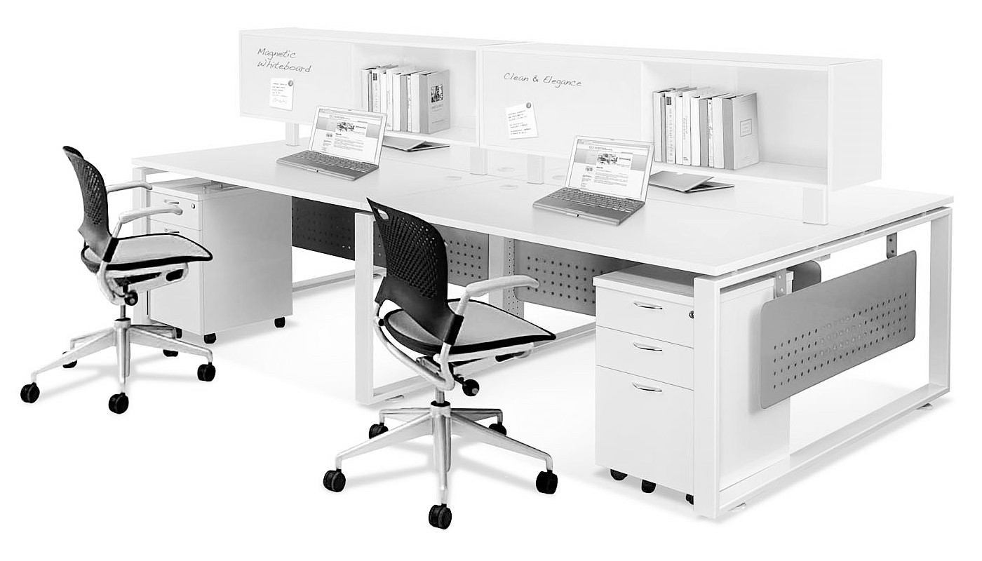office furniture singapore office partition 28mm Office Cubicle 9 (2) working desk