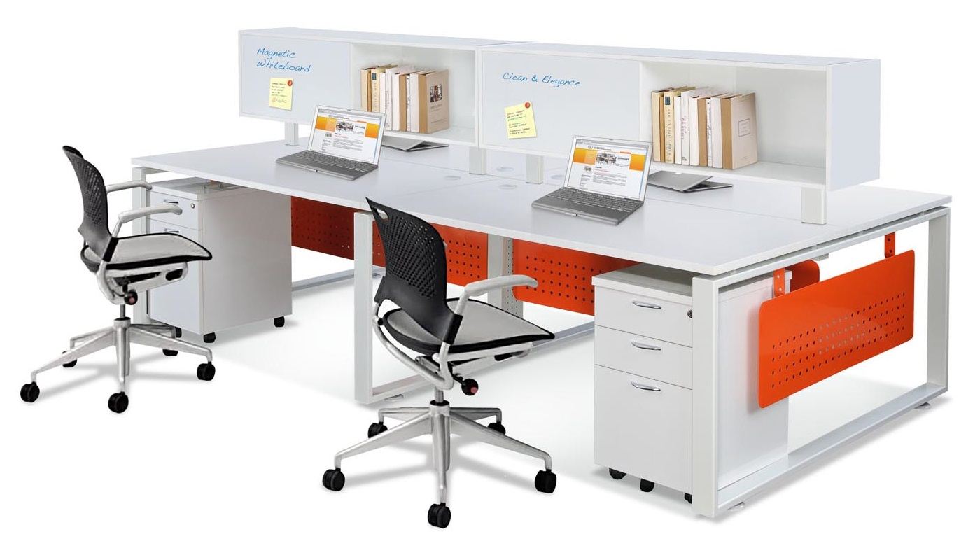 office furniture singapore office partition 28mm Office Cubicle 9 work table