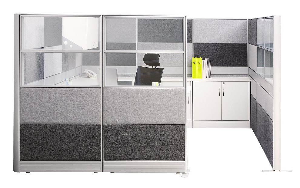 office furniture singapore office partition 80mm movable partition