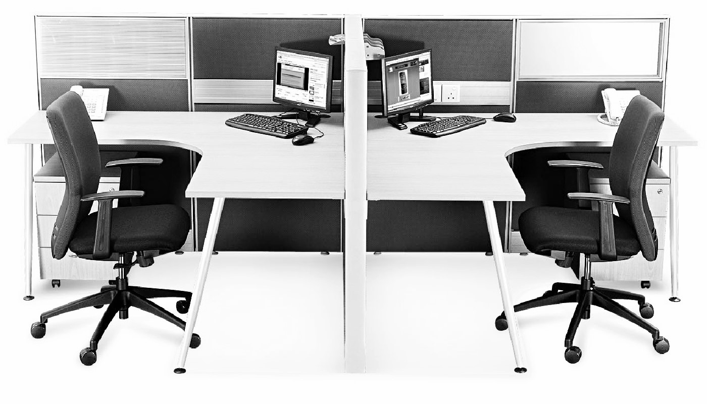 office furniture singapore office partition Office Cubicle 53 (2) computer tables