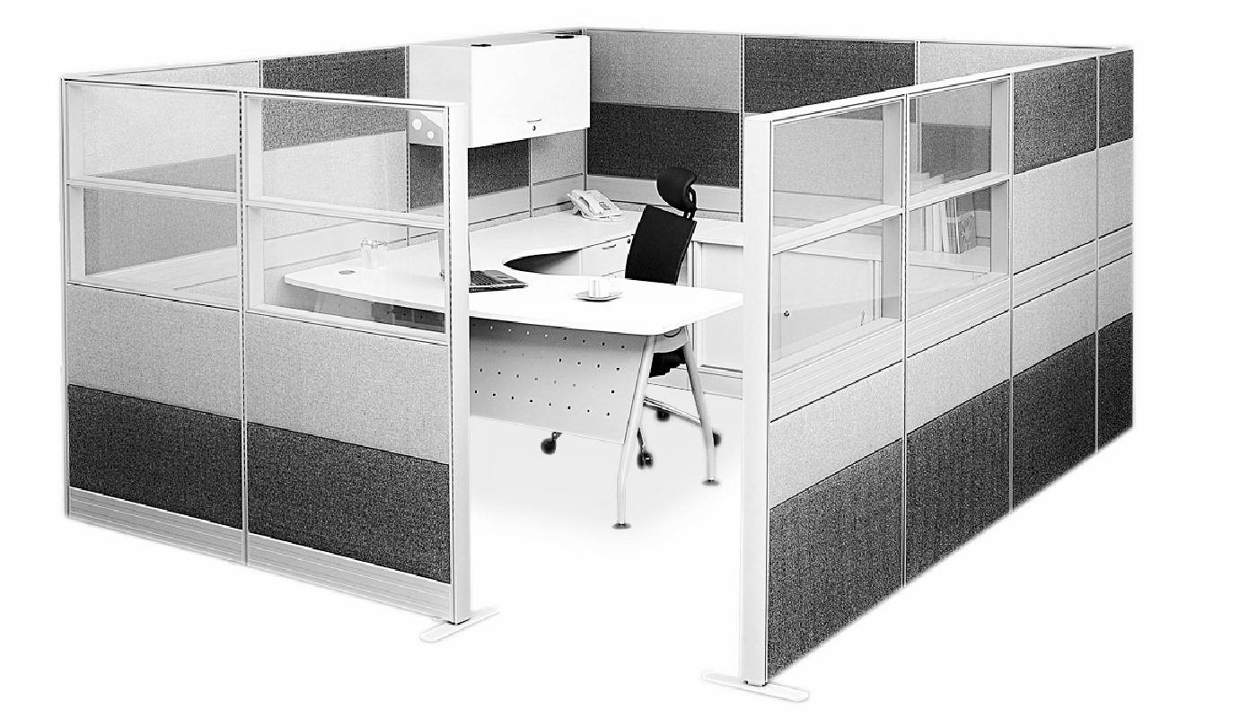 office furniture singapore office partition Office Cubicle 56 (2) work table