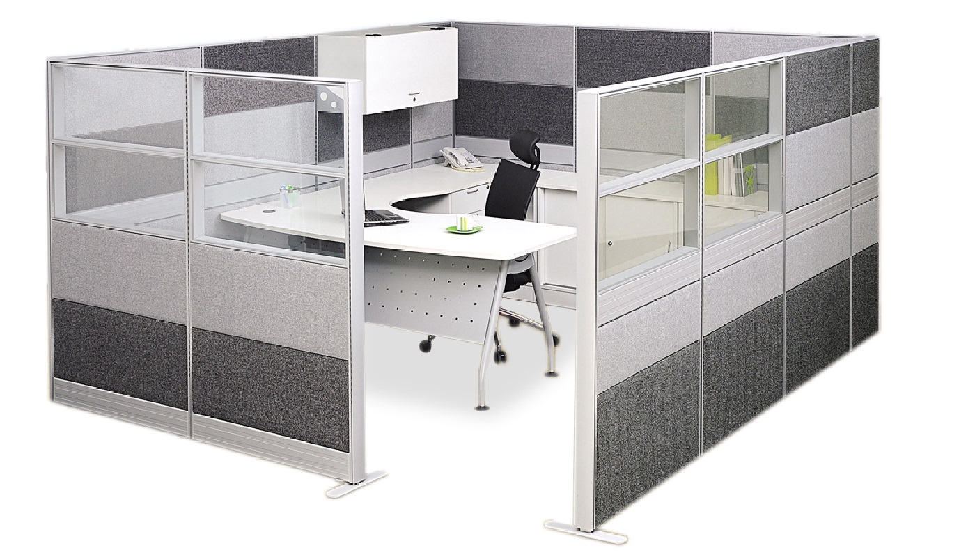 office furniture singapore office partition Office Cubicle 56 workstations